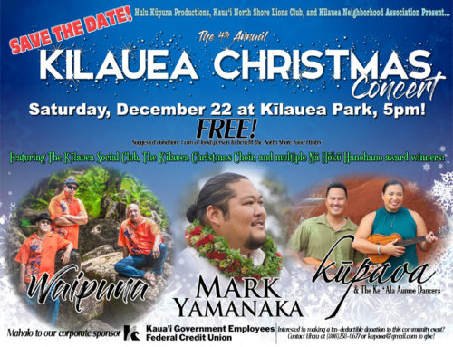 Heads Up on Special Concerts On Kauai