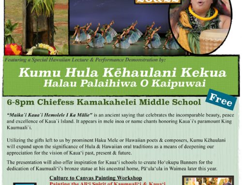 Mid-February 2020 ARTS & CULTURE CALENDAR On Kauai
